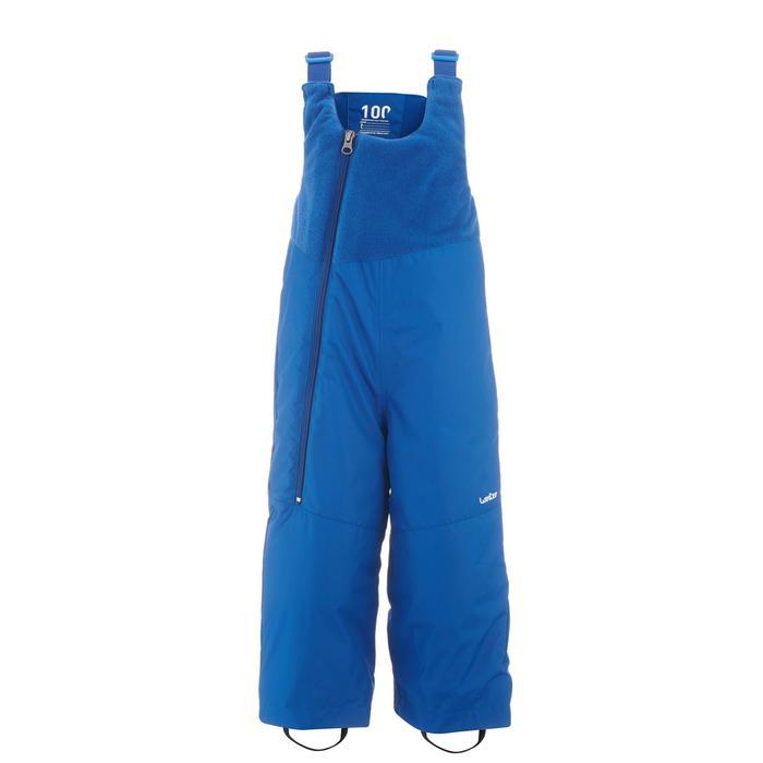 Salopette de ski / luge bébé warm bleue