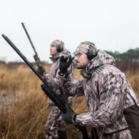 équipement complet du chasseur d'oie en hiver