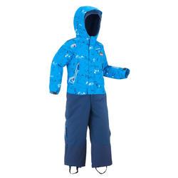 Schneeanzug Ski-P Suit 500 PNF Kleinkinder blau