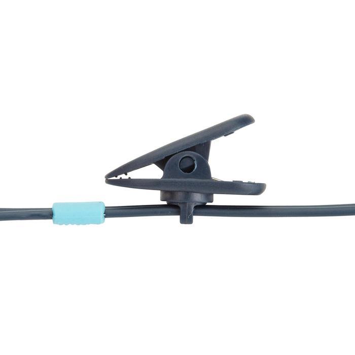 Kit écouteurs MP3 étanches de natation bleu - 1414162
