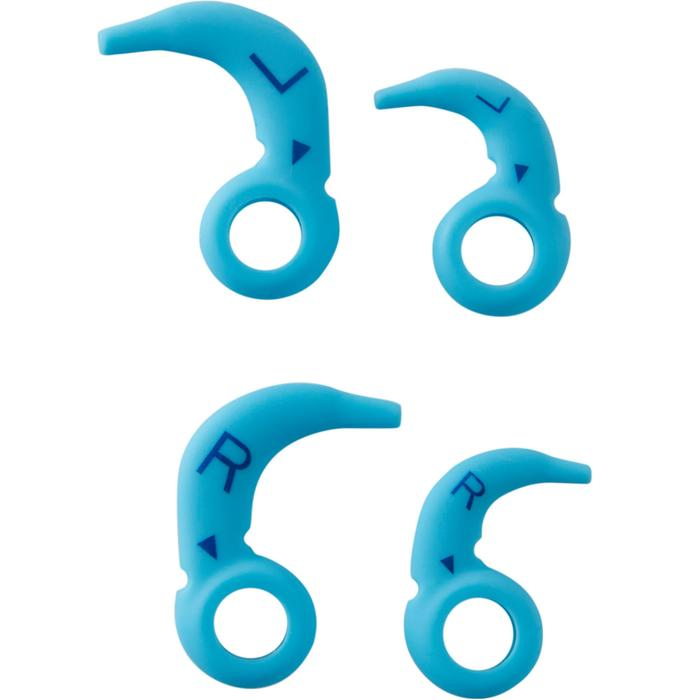 Kit écouteurs MP3 étanches de natation bleu - 1414163