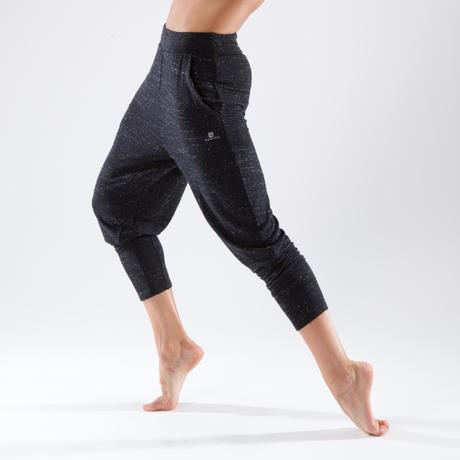 7f7122f046984 Spodnie marchewki do tańca nowoczesnego damskie | Domyos by Decathlon