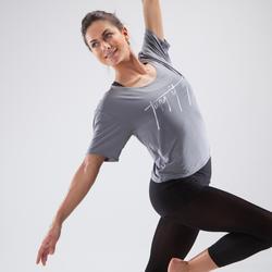 Women's Short Dance T-Shirt - Grey