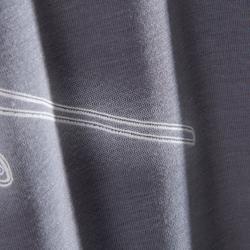 Camiseta de manga corta danza mujer gris