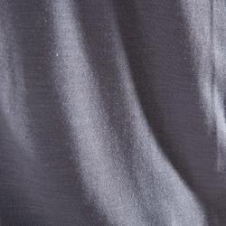Camiseta corta de danza mujer gris