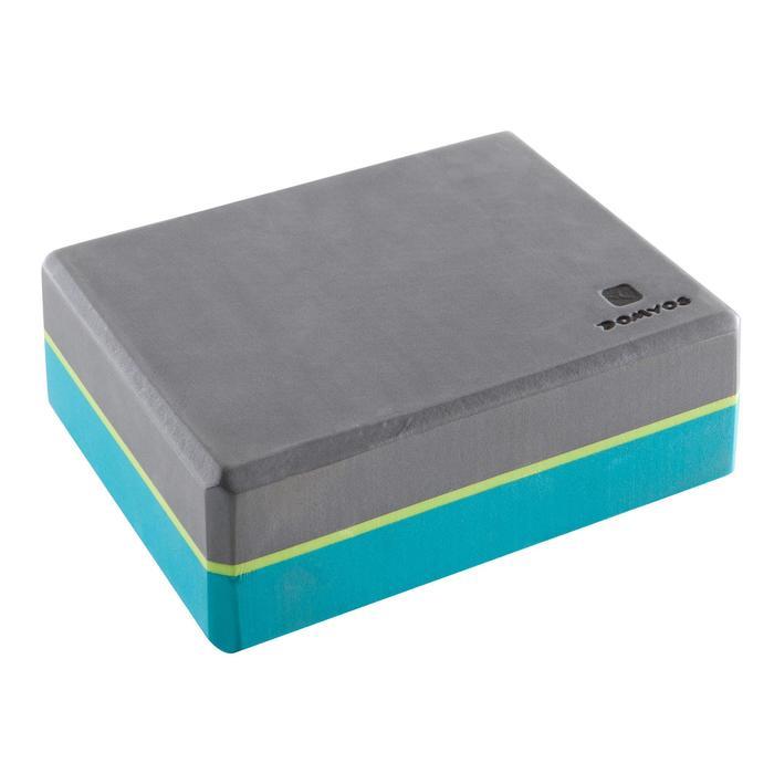 Brique Yoga mousse gris / bleu - 1414261