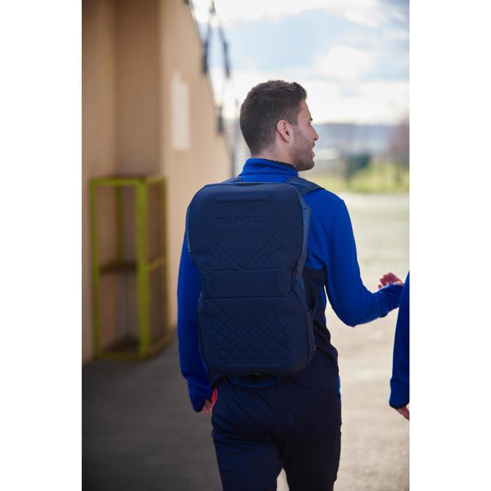 Sporttasche Away 30 Liter grau/blau/gelb