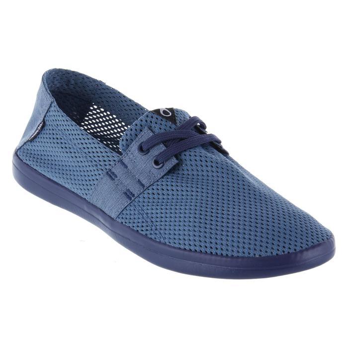 Herenschoenen Areeta blauw grijs