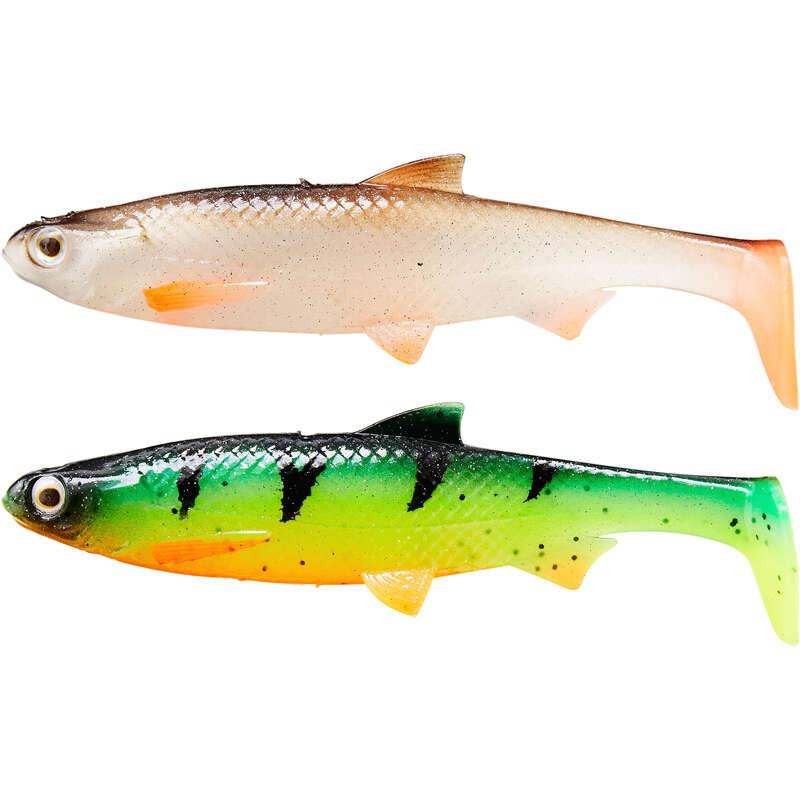 MĚKKÉ NÁSTRAHY 6–10 CM Lov dravých ryb - SADA NÁSTRAH KIT ROACH 90 M1  CAPERLAN - Nástrahy a bižuterie