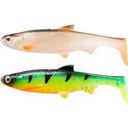 Set shads Roach 90 multicolor voor roofvissen