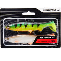 KIT ROACH RTC 120 ROACH / FIRE TIGER LURE FISHING SHAD SOFT LURE