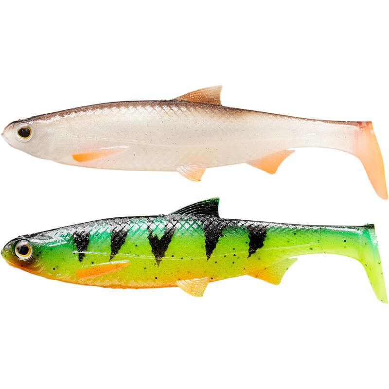 MĚKKÉ NÁSTRAHY 6–10 CM Lov dravých ryb - SADA NÁSTRAH KIT ROACH 120 M1  CAPERLAN - Nástrahy a bižuterie