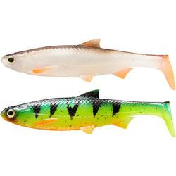 Set shads Roach 120 multicolor voor roofvissen