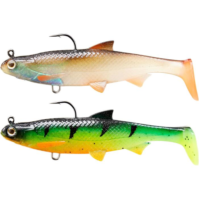 KIT SHAD ROACH READY TO CAST 90 MULTICOLOR PÊCHE DES CARNASSIERS - 1414579