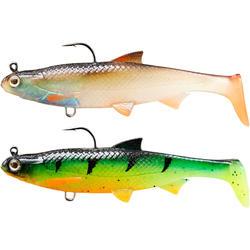 LURE FISHING SOFT SHAD LURE ROACH RTC 90 ROACH / FIRETIGER
