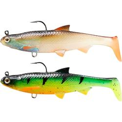 Set shads Roach Ready To Cast 90 multicolor voor roofvissen