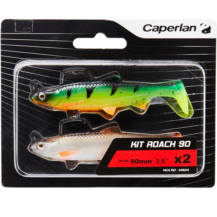 KIT SHAD ROACH 90 MULTICOLOR PÊCHE DES CARNASSIERS - 1414580
