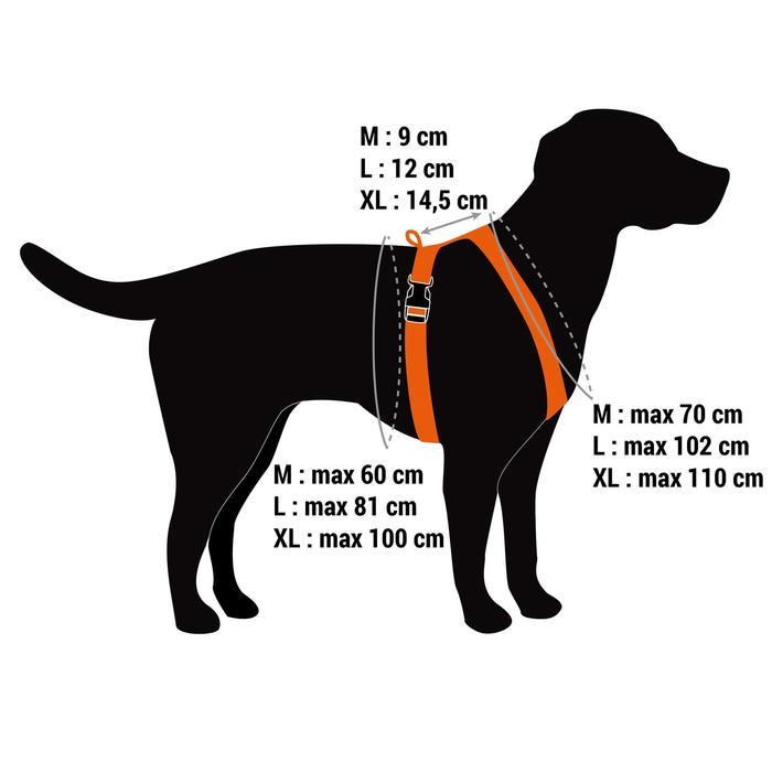 Harnais chien chasse kaki - 1414588