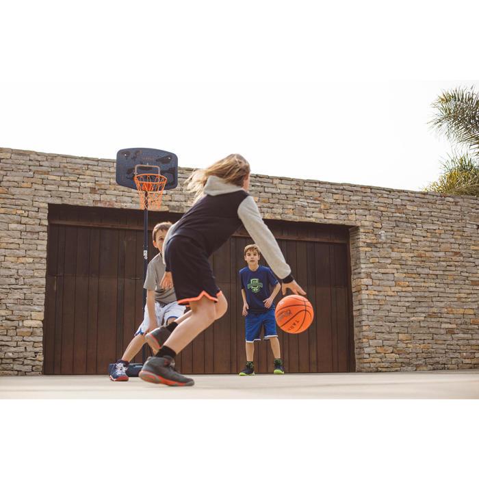 Panier de basket enfant B200 EASY bleu espace. 1,60m à 2,20m. Jusqu'à 10 ans. - 1414599