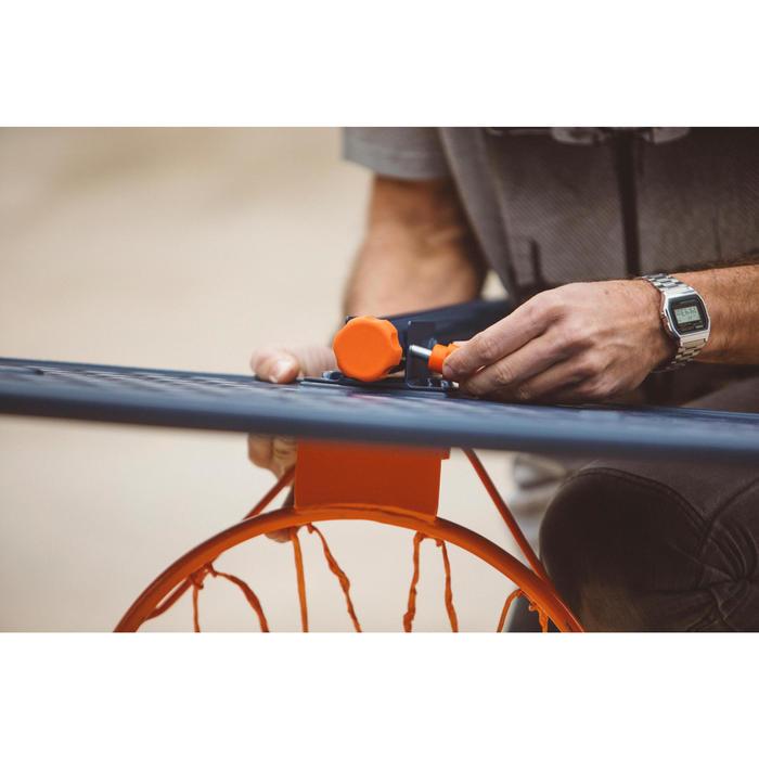 Panier de basket enfant B200 EASY bleu espace. 1,60m à 2,20m. Jusqu'à 10 ans. - 1414603