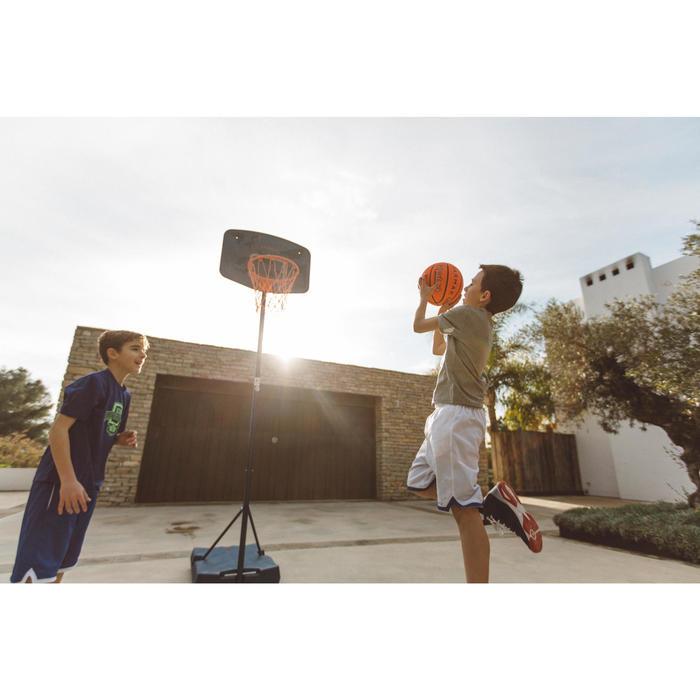 Basketbalpaal KD/VW B200 Easy blauw espace 1,60 tot 2,20 m. Tot 10 jaar.
