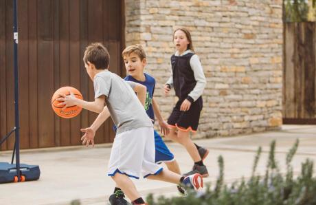 Cadeau de noel basketball ballon enfant