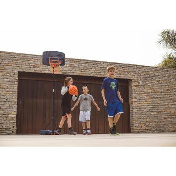 Panier de basket enfant B200 EASY bleu espace. 1,60m à 2,20m. Jusqu'à 10 ans. - 1414613