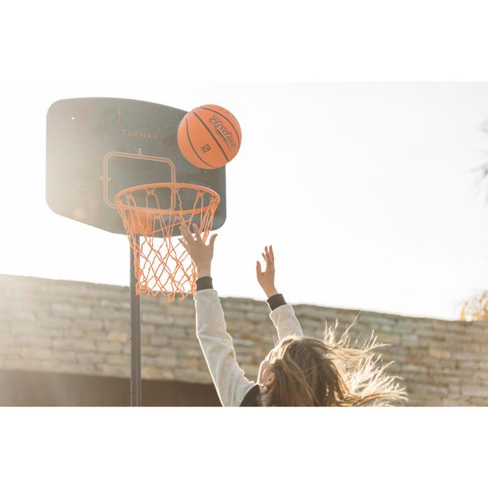 Basketbalpaal B200 Easy voor kinderen blauw space. 1,60 tot 2,20 m. Tot 10 jaar.