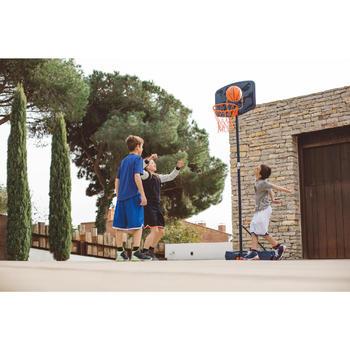 Panier de basket enfant B200 EASY bleu espace. 1,60m à 2,20m. Jusqu'à 10 ans. - 1414636