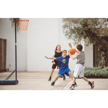 Panier de basket enfant B200 EASY bleu espace. 1,60m à 2,20m. Jusqu'à 10 ans. - 1414637