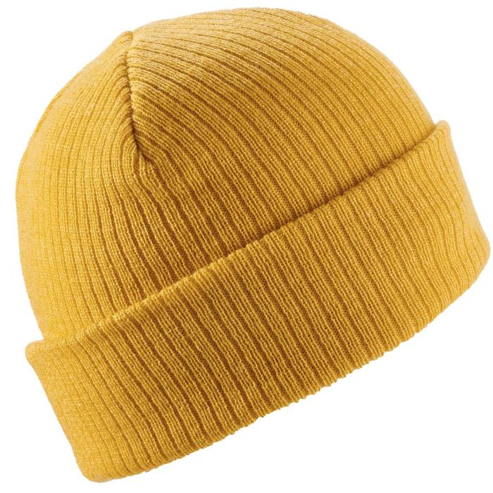 成人滑雪帽FISHERMAN - 赭石色