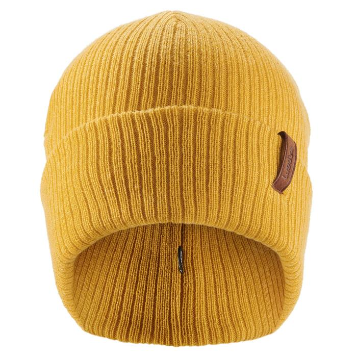 ADULT'S FISHERMAN SKIING HAT - OCHRE