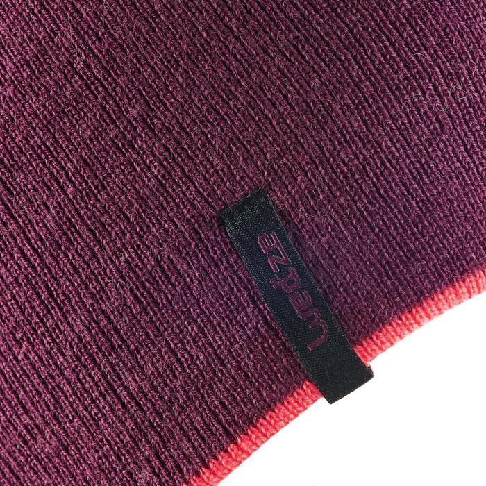 Omkeerbare skimuts paars/roze
