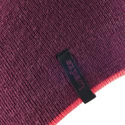 Skimütze wendbar Erwachsene violett/rosa