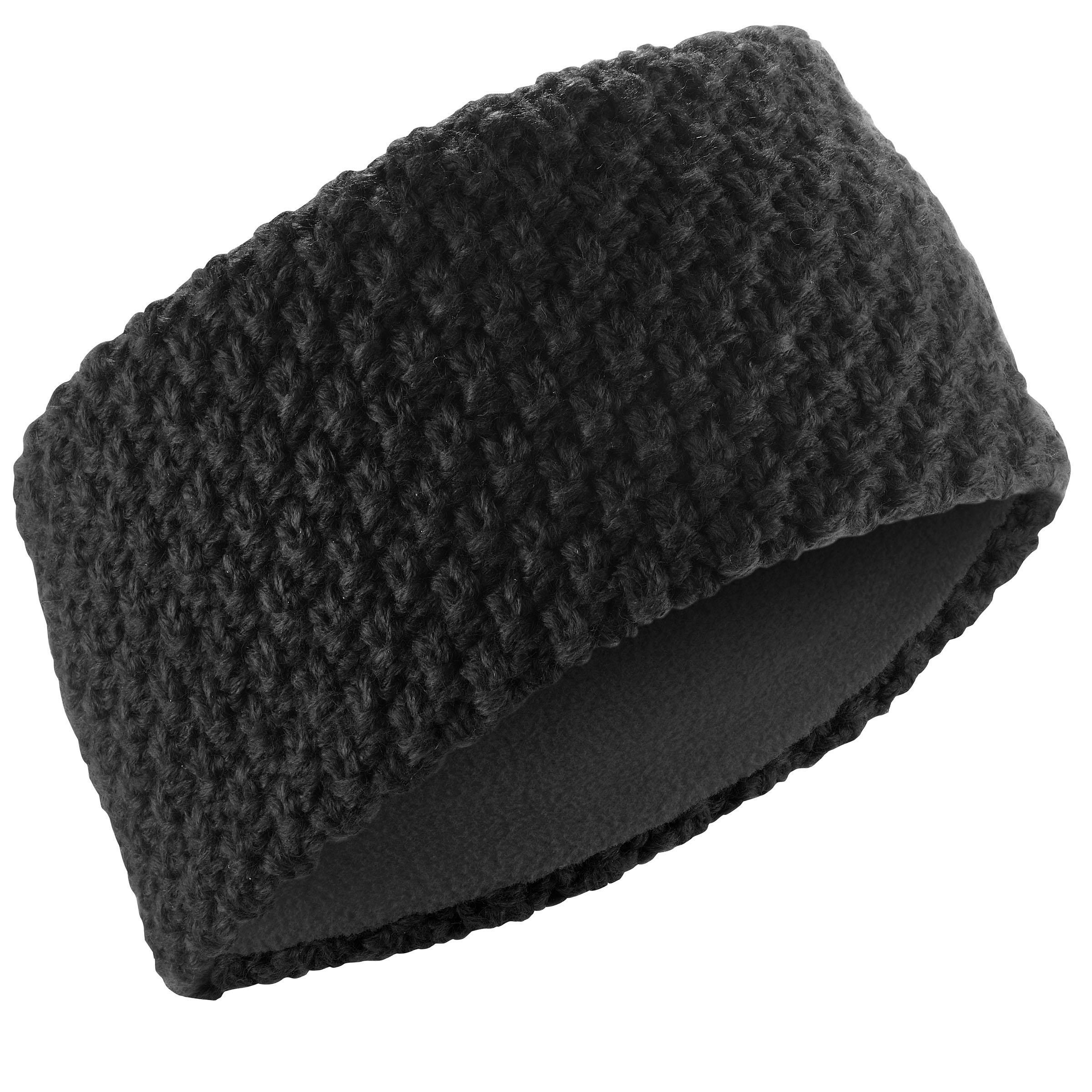 Stirnband Timeless Erwachsene schwarz   Accessoires > Mützen > Stirnbänder   Schwarz   Wed´ze