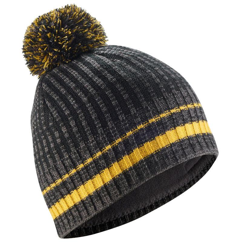 Adult Rib Ski Hat - Black