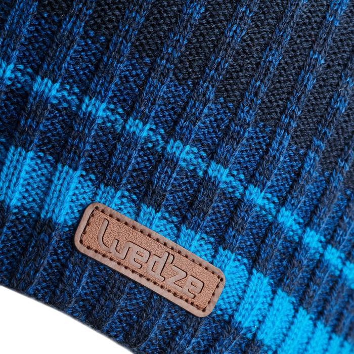 Skimuts volwassenen Rib blauw
