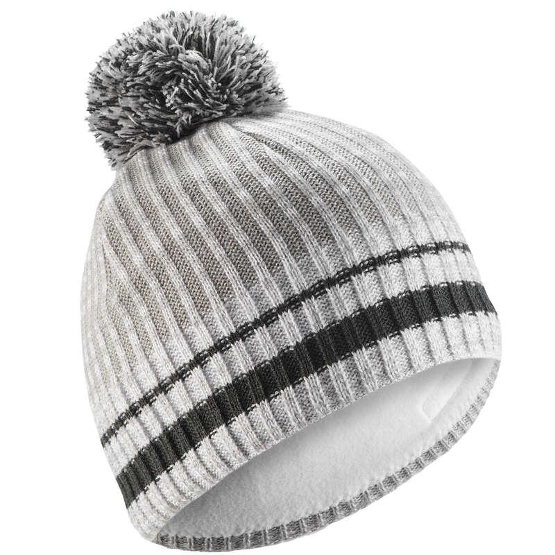 ADULT SKI AND SNOWBOARD HEADWEAR - Rib Hat - White