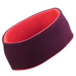 Stirnband wendbar Reverse Erwachsene rosa/violett