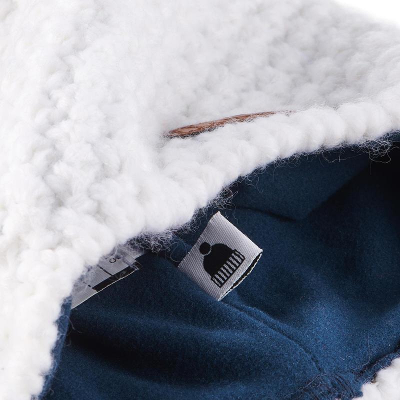 TIMELESS SKIING HAT WHITE BLUE
