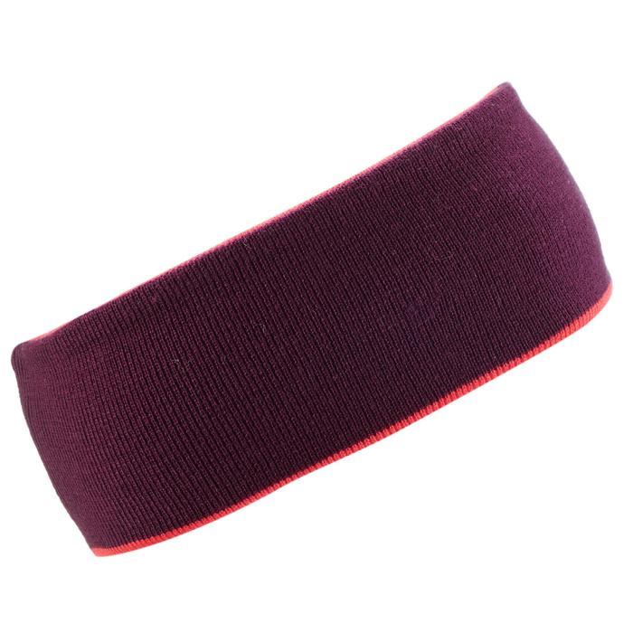 Skihoofdband voor volwassenen Reverse paars/roze
