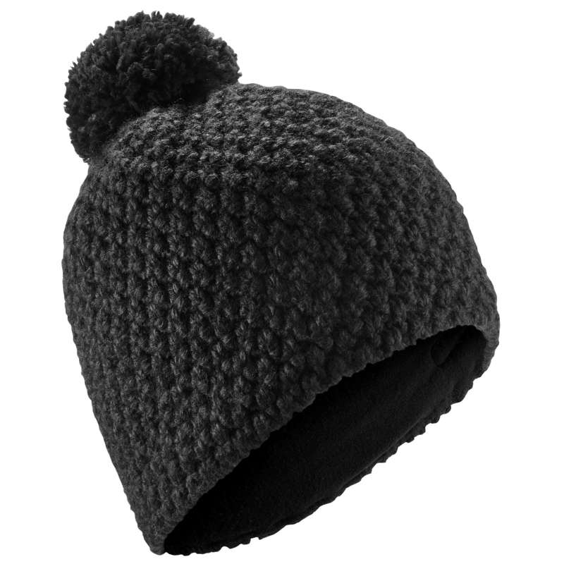 ADULT SKI AND SNOWBOARD HEADWEAR Ski Wear - Timeless Hat - Black WEDZE - Ski Wear