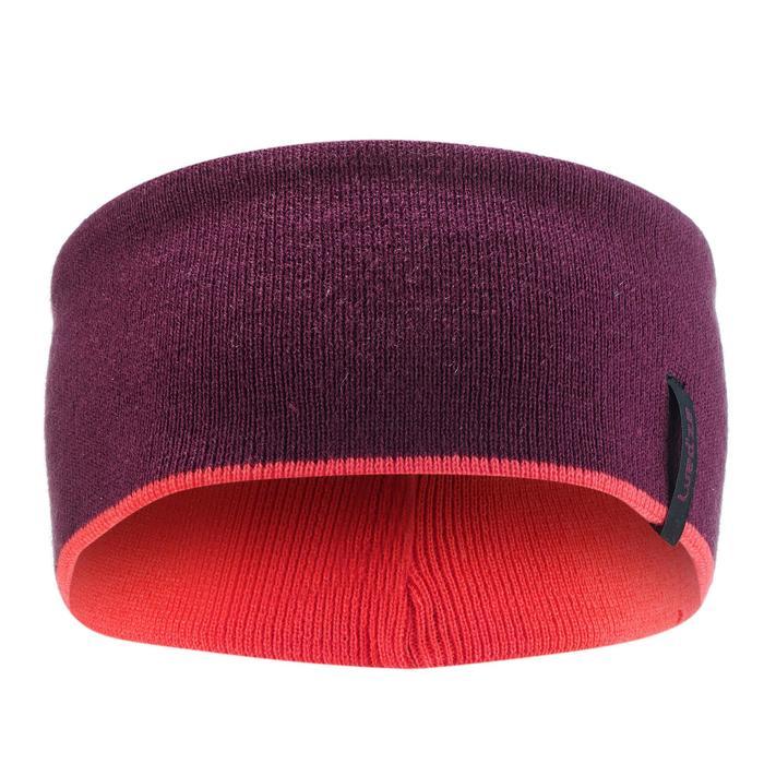 Stirnband wendbar Erwachsene rosa/violett