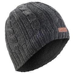 成人滑雪帽CABLE STITCH灰色