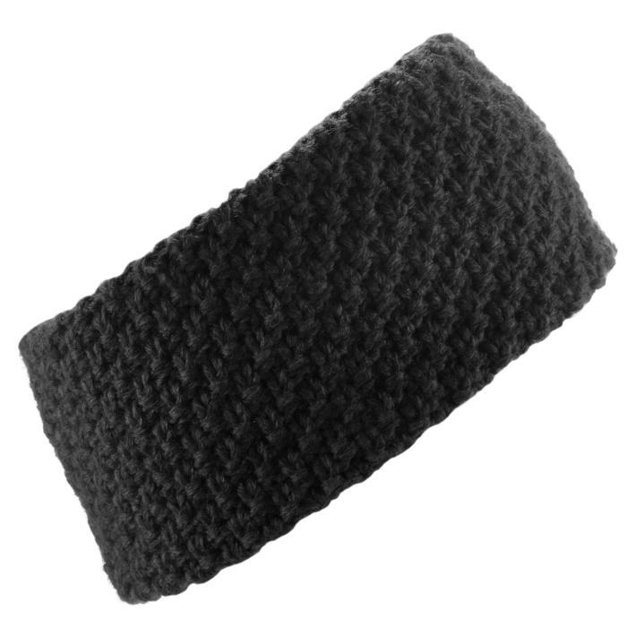 Ski hoofdband voor volwassenen Timeless zwart