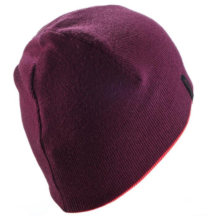 Skimütze wendbar Reverse violett/rosa