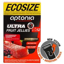 Barritas energéticas de frutas Aptonia ECOSIZE ULTRA 12x25 g fresa