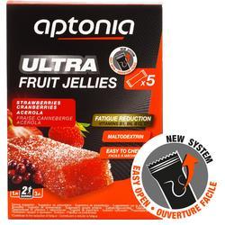 Barritas energéticas de frutas Aptonia ULTRA 5x25 g fresa