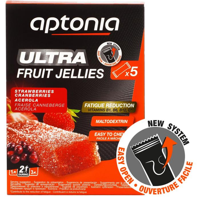 Fruit jellies Ultra aardbei acerola 5x 25 g - 1414909
