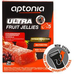 Fruit jellies Ultra aardbei acerola 5x 25 g